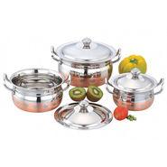 Klassic Vimal 3Pcs Copper Valentine Dish_KV108