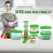 10 Pcs Veggie Fresh Storage Set