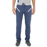 Chromozome Regular Fit Trackpants For Men_10509 - Blue