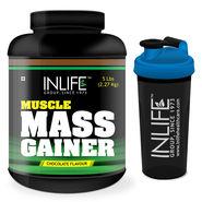 INLIFE Mass Gainer 5 Lb (2.27Kg) + Free Shaker
