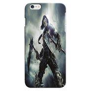 Snooky 19874 Digital Print Hard Back Case Cover For Apple iPhone 6 - Grey