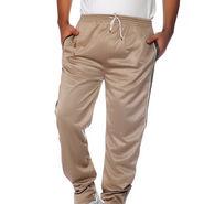 Delhi Seven Polyester Plain Trackpant For Men_Aktpm34 - Beige