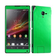 Snooky Mobile Skin Sticker For Sony Xperia Zl L35h C6502 20852 - Green