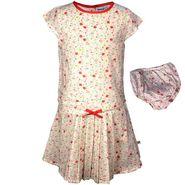 ShopperTree Multi Flower Dress with Panty Set