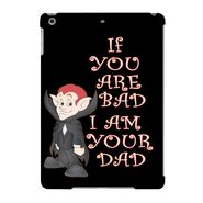 Snooky Digital Print Hard Back Case Cover For Apple iPad Air 23627 - Black