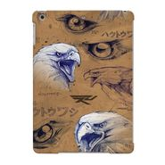 Snooky Digital Print Hard Back Case Cover For Apple iPad Air 23646 - Brown