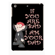Snooky Digital Print Hard Back Case Cover For Apple iPad Mini 23776 - Black
