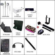 Vizio's Combo of Complete Tablet Accessories & Selfie Stick for Smartphones