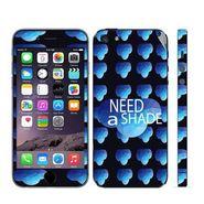 Snooky 28360 Digital Print Mobile Skin Sticker For Apple Iphone 5 - Blue