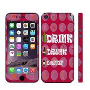 Snooky 28346 Digital Print Mobile Skin Sticker For Apple Iphone 5 - Pink