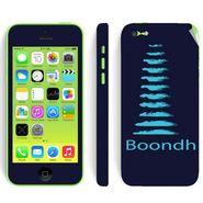 Snooky 28396 Digital Print Mobile Skin Sticker For Apple Iphone 5C - Blue