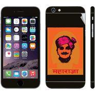 Snooky 28422 Digital Print Mobile Skin Sticker For Apple Iphone 6 - Black
