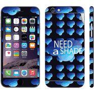 Snooky 28414 Digital Print Mobile Skin Sticker For Apple Iphone 6 - Blue