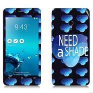 Snooky 27653 Digital Print Mobile Skin Sticker For Asus Zenfone 5 A501CG - Blue