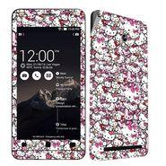 Snooky 27691 Digital Print Mobile Skin Sticker For Asus Zenfone 6 A600CG/A601CG - Multi
