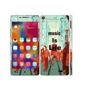 Snooky 27706 Digital Print Mobile Skin Sticker For Gionee Elife 5.1 - Multi