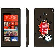 Snooky 28159 Digital Print Mobile Skin Sticker For HTC 8X C620E - Multi