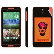 Snooky 28096 Digital Print Mobile Skin Sticker For HTC Desire 610 - Black