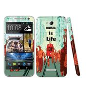 Snooky 28197 Digital Print Mobile Skin Sticker For HTC Desire 616 - Multi