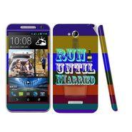 Snooky 28183 Digital Print Mobile Skin Sticker For HTC Desire 616 - Multi