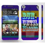 Snooky 28100 Digital Print Mobile Skin Sticker For HTC Desire 820 - Multi