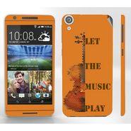 Snooky 28124 Digital Print Mobile Skin Sticker For HTC Desire 820 - Orange