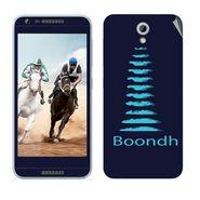 Snooky 28234 Digital Print Mobile Skin Sticker For HTC Desire 820 mini - Blue