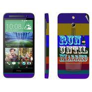 Snooky 28237 Digital Print Mobile Skin Sticker For HTC One E8 - Multi