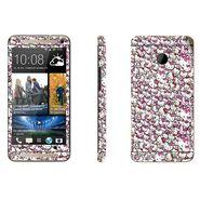 Snooky 28290 Digital Print Mobile Skin Sticker For HTC One M7 - Multi