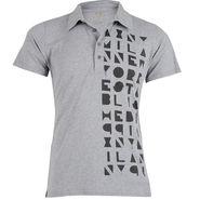 Branded Cotton Tshirt_3060gy - Grey