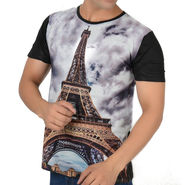 Graphic Printed Tee - Multicolor_etts