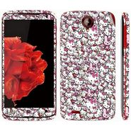 Snooky 38766 Digital Print Mobile Skin Sticker For Lenovo S820 - Pink