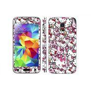 Snooky 38820 Digital Print Mobile Skin Sticker For Samsung Galaxy S5 Mini - Pink