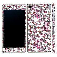 Snooky 38831 Digital Print Mobile Skin Sticker For Sony Xperia Z3 - Pink