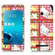 Snooky 38838 Digital Print Mobile Skin Sticker For Asus Zenfone 5 - Pink