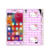 Snooky 38864 Digital Print Mobile Skin Sticker For Gionee Elife S5.1 - Pink