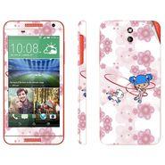 Snooky 38932 Digital Print Mobile Skin Sticker For HTC Desire 610 - White