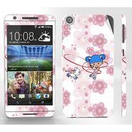Snooky 38944 Digital Print Mobile Skin Sticker For HTC Desire 820 - White