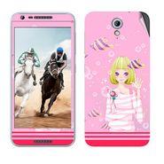 Snooky 38988 Digital Print Mobile Skin Sticker For HTC Desire 820 mini - Pink