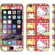Snooky 39066 Digital Print Mobile Skin Sticker For Apple Iphone 6  - Pink