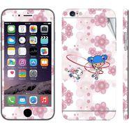 Snooky 39088 Digital Print Mobile Skin Sticker For Apple Iphone 6 Plus - White