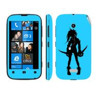 Snooky 39226 Digital Print Mobile Skin Sticker For Nokia Lumia 510 - Blue