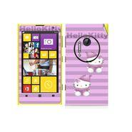 Snooky 39295 Digital Print Mobile Skin Sticker For Nokia Lumia 1020 - Purple