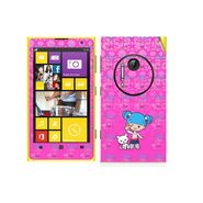 Snooky 39303 Digital Print Mobile Skin Sticker For Nokia Lumia 1020 - Pink