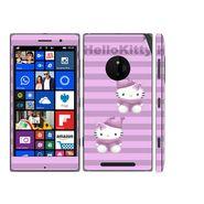 Snooky 39319 Digital Print Mobile Skin Sticker For Nokia Lumia 830 - Purple