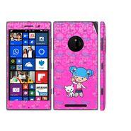 Snooky 39327 Digital Print Mobile Skin Sticker For Nokia Lumia 830 - Pink
