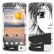 Snooky 39362 Digital Print Mobile Skin Sticker For OPPO N1 Mini - Gray