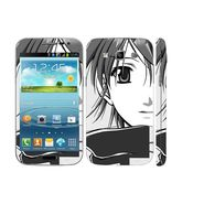 Snooky 39422 Digital Print Mobile Skin Sticker For Samsung Galaxy Grand Quattro 8552 - Gray