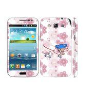 Snooky 39424 Digital Print Mobile Skin Sticker For Samsung Galaxy Grand Quattro 8552 - White