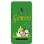 Snooky 36117 Digital Print Hard Back Case Cover For Asus Zenphone 5 - Green